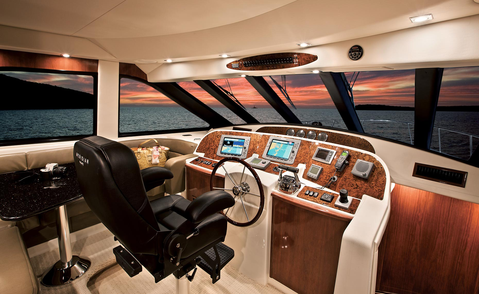 Salon Interior Megayacht Photographer Steinberger