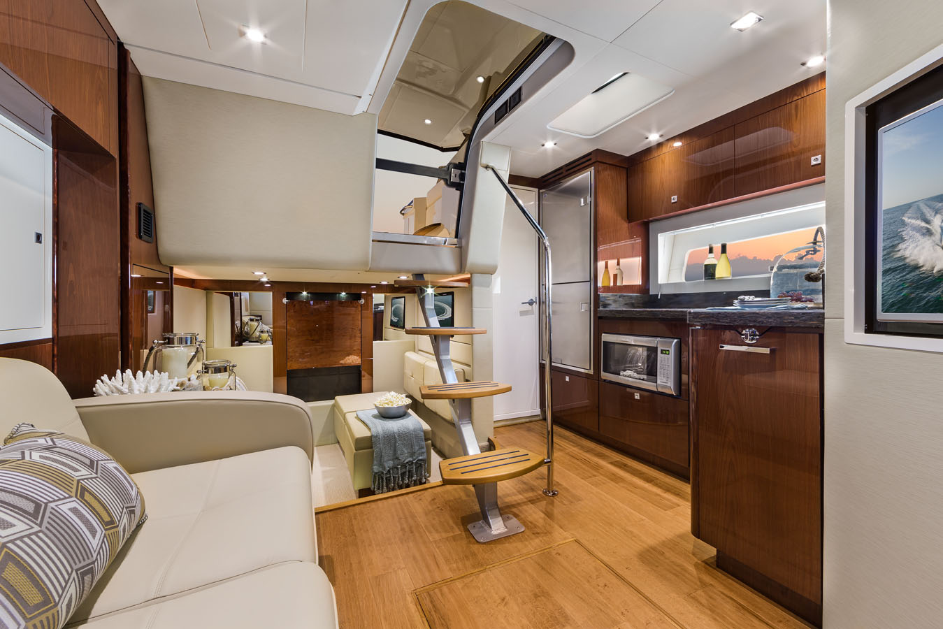 Salon Interior Marine Yacht Photographer Steinberger