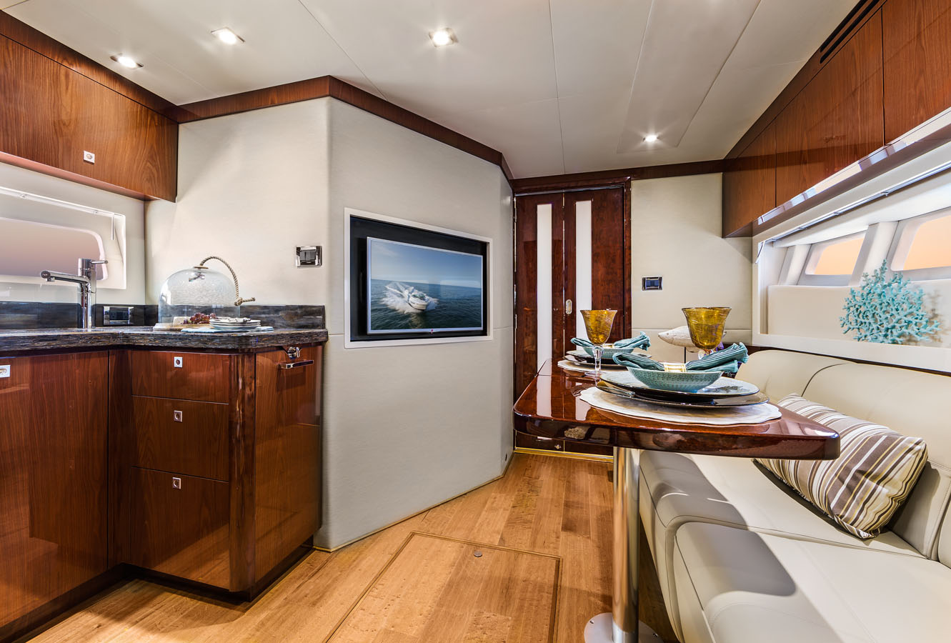 Galley Interior Marine Yacht Photographer Steinberger